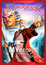 Superbook: Let My People Go! The Story of Exodus, DVD