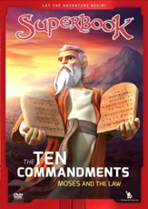 Superbook: The Ten Commandments, Moses and the Law, DVD