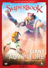 Superbook: A Giant Adventure, David and Goliath, DVD