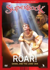 Superbook: Roar! Daniel and the Lions' Den, DVD