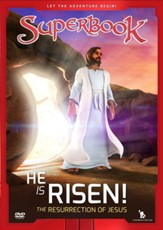 Superbook: He Is Risen! The Resurrection of Jesus, DVD