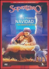 Superlibro: La primera navidad,  Nacimiento de Jesus (Superbook: The First Christmas, the Birth of Jesus), DVD