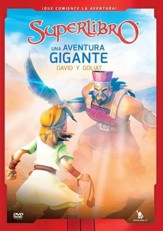 Superlibro: Una Aventura Gigante, David y Goliat  (Superbook: A Giant Adventure, David and Goliath), DVD