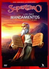 SuperLibro: Los Diez Mandamientos, Moisés y la Ley  (SuperBook: The Ten Commandments, Moses and the Law), DVD
