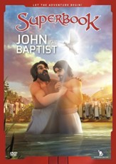 Superbook: John the Baptist, DVD