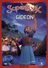 Superbook: Gideon, DVD