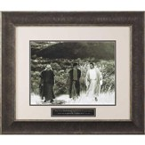 Road to Emmaus, Were Not Our Hearts Burning Framed Art