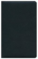 ESV Heirloom Thinline Bible, Genuine Goatskin Leather, Black