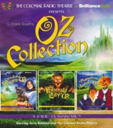 Oz Collection: The Wonderful Wizard of Oz, The Emerald City of Oz, The Marvelous Land of Oz - unabridged audiobook on CD