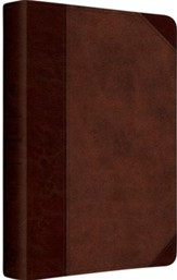 ESV Gospel Transformation Bible (TruTone, Brown/Walnut, Portfolio)