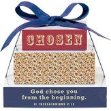 Chosen, God Chose You From the Beginning Tiered Memo Pads