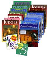Grade 5 Homeschool Bible Curriculum Materials Kit