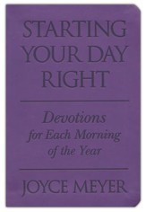 Starting Your Day Right, Soft Leather-look, purple