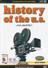 Light Speed History of the U.S.: Civil Liberties DVD