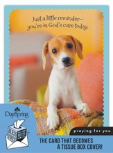 Whiskers & Paws, Puppy, Praying For You Card and Tissue Box Cover