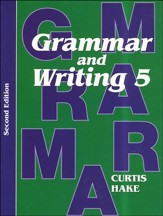 Saxon Grammar & Writing Grade 5 Student Text, 2nd Edition
