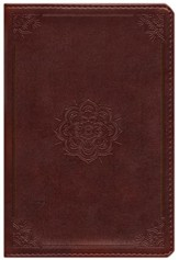 ESV Personal Reference Bible (TruTone, Mahogany, Emblem Design), Imitation Leather