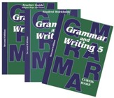 Saxon Grammar & Writing Grade 5 Kit, 2nd Edition