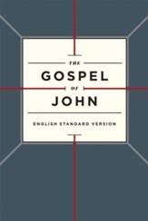 ESV Gospel of John, Paperback, Cross Design
