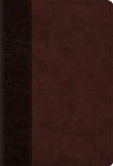 The Psalms, ESV (TruTone over Board, Brown/Walnut, Timeless Design), Imitation Leather - Imperfectly Imprinted Bibles
