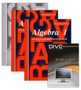Saxon Algebra 1 Kit & DIVE CD-ROM, 3rd Edition