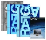 Saxon Algebra 1/2 Kit & DIVE CD-Rom, 3rd Edition