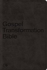 ESV Gospel Transformation Bible, TruTone, Imitation Leather,  Black