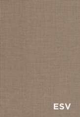 ESV Student Study Bible, Clothbound Hardcover - Slightly Imperfect