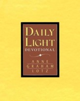 Daily Light Devotional, bonded leather, tan