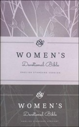 ESV Women's Devotional Bible, Purple Hardcover - Imperfectly Imprinted Bibles