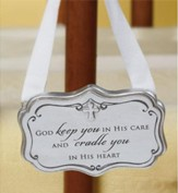 God Keep You in His Care Crib Adornment