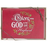 Glory to God, Box of 12 Christmas Cards