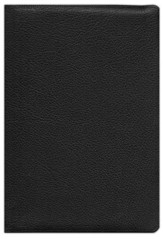 ESV Heirloom Wide Margin Reference Bible, Black Goatskin Leather