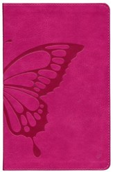 ESV Kid's Thinline Bible, TruTone Imitation Leather, Butterfly Blush