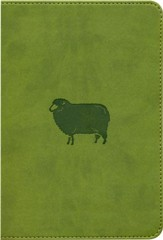ESV Kid's Compact Bible, TruTone Imitation Leather, Green Pastures