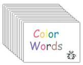 Kindergarten Complete Color Words Flashcards