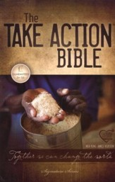 NKJV Take Action Bible, Softcover