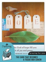 Hope, Praying for You Card and Tissue Box Cover