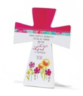 Proverbs 31 Tabletop Cross