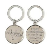 Baptized in Christ Keyring