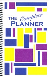 Kindergarten Complete The Complete Planner (Geometric Shapes Cover)