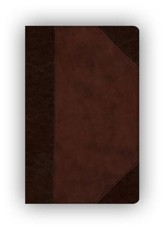 ESV Wide Margin Reference Bible (TruTone, Brown/Walnut, Portfolio Design) Imitation Leather
