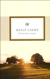 ESV Daily Light Devotional Bible, Softcover
