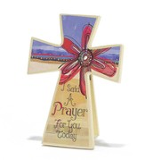 I Said a Prayer Tabletop Cross