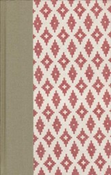 ESV Thinline Bible--clothbound hardcover with diamond pattern