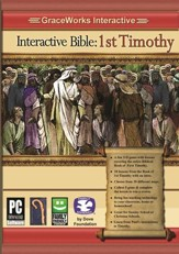 Interactive Bible: 1st Timothy Computer Game  (Access Code Only)
