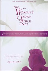KJV The Woman's Study Bible, Hardcover