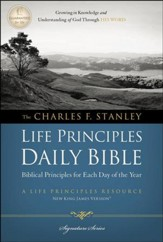 NKJV Charles F. Stanley Life Principles Daily Bible - Slightly Imperfect