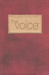 The Voice Complete Bible, Fabric/Leathersoft, burgundy  - Slightly Imperfect