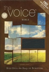 The Voice Complete Bible, Bonded leather, black